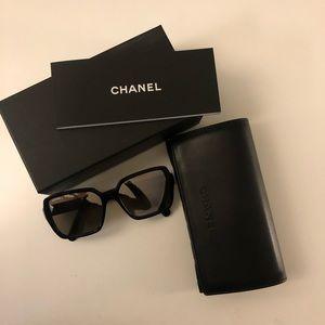 Chanel Square Mirror Sunglasses